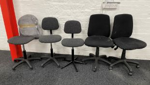 5 x Operator Chairs | As Pictured