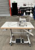 Juki MO-6714DA 4 Thread Overlock Industrial Sewing Machine | YOM: 2020 | LOCATED IN MANCHESTER