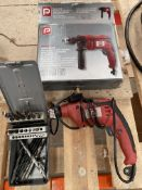 Performance Power PHD450C 450W 240V Corded Hammer Drill