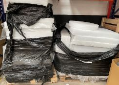 2 x Pallets of Polyester Foam Sheets | As Pictured