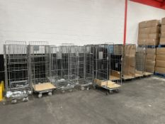 15 x Various Mobile Cages