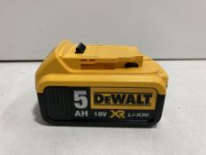 DeWalt DCB184 18V XR Li-Ion 5.0Ah Battery | RRP £62.95