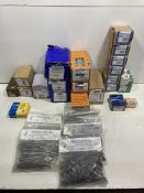20+ Boxes/Bags of Screws, Nails & Bolts | See Photographs