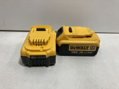 2 x DEWALT DCB182-XJ 18V 4.0AH LI-ION XR BATTERY | Total RRP £131.92