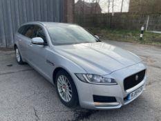 Jaguar XF Prestige D Auto Diesel Estate in Silver | 19 Plate | 36,361 Miles