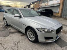 Jaguar XF Prestige D Auto Diesel Estate in Silver | 19 Plate | 47,861 Miles
