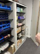 Cantilever Vertical Door Steel Cupboard w/ 5 x Shelves   100 x 200 x 50cm   CONTENTS NOT INCLUDED