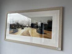 Framed Liam Spencer 'Bury New Road' Limited Edition Print (35/250) | 111 x 61cm