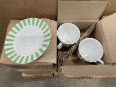 12 x Tea-Cup & Saucer Sets
