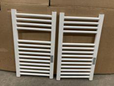 2 x Geyser Cube+ Heated Towel Rails