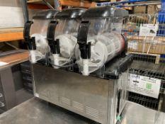 Unbranded Slush Machine W/ Three Dispensers