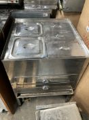 Hot Food Storage Unit W/ 5 x Food Trays
