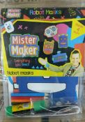 100 x Mister Maker Creative Sets | Robot Masks | Total RRP £400