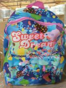 100 x Candy Crush Full Size Backpack | Total RRP £1,500
