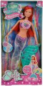 10 x Brand New Mermaid Doll w/Flashing Multicolour And Glitter Tail