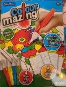 100 x John Adams Colour Mazing Colouring Books | Brand New | Total RRP £500