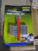 100 x Brand New Brookstone Car Fuse Kit