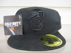 100 x Brand New 'Call of Duty' Snap Back Caps | Total RRP £1,500