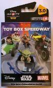 100 x BNIB Marvel Computer Game   Toy Box Speedway Expansion Game