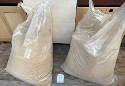 2 x Bags of Sawdust
