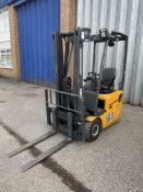 Jungheinrich EFG110 1000kg Electric Forklift Truck w/ Charger | 3,779 Hours