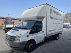 Ford Transit 350 LWB 3.5T Diesel Luton Van | 59 Plate | 197,398 Miles