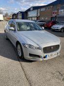 Jaguar XF Prestige D Auto Diesel Estate in Silver | 19 Plate | 65,141 Miles