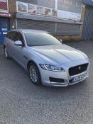 Jaguar XF Prestige D Auto Diesel Estate in Silver | 19 Plate | 64,033 Miles