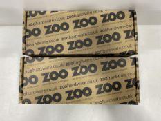 2 x Boxes Of Zoo Hardware Euro Profile Escutcheon | ZCS001SS | 50 Per Box