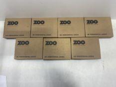 7 x Various Zoo Hardware Horizontal Locks | Total RRP £108.34