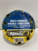 24 x Rolls Everbuild D/S Polyester Multi-Purpose Double Sided Tape | Total RRP £190.80