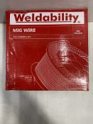 2 x Weldability Mig Wire | 1.0mm | Total RRP £66