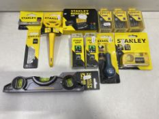 Mixed Lot Of Various Stanley Tools & Accessories | See description | Total RRP £292.81