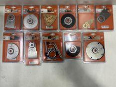 22 x Various Fein Starlock Saw Blades & Accessories | Total RRP £422.77