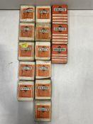 14 x Boxes Of Various Stiletto Hardboard Panel Pins