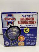 Faithfull Wall Mounted Halogen Floodlight