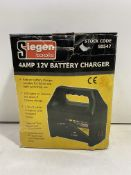Siegen 4amp 12v Automatic Battery Charger | S0547