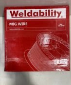 2 x Weldability Mig Wire | 1.2mm | Total RRP £78