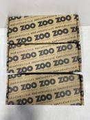 3 x Boxes Of Zoo Hardware Euro Profile Escutcheon | ZCS001SS | 50 Per Box