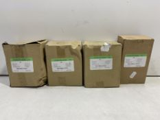 4 x Boxes Of Unbranded Stainless Steel Screws