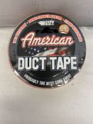 12 x Rolls Of Everbuild American Duct Tape | 50mm