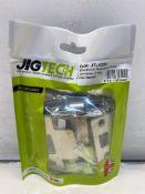 10 x Jigtech Rectangular Privacy Latch + Spacer   JTL4202