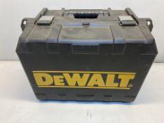 DeWalt D26500K Planer Carry Case ONLY!   Planer Not Included