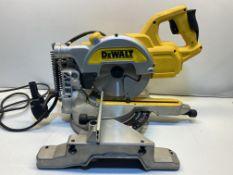 DeWalt Electric Mitre Saw | DWS777-GB