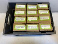12 x Zoo Hardware Return To Door Lever On Round Rose Set | ZCS030SS