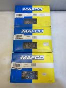 3 x Various Mafco Nuts and Washers