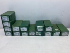 15 x Boxes Of Various Timber Mate Pins, Nails & Brads