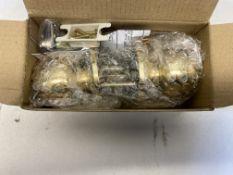 7 x Unbranded Passage Knobsets - Polished Brass