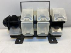 Sealey APAS24R Revolving Parts Storage Unit 24 Compartment