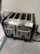 Dualit CAT4 4 slot toaster